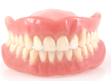 Full set of denture teeth
